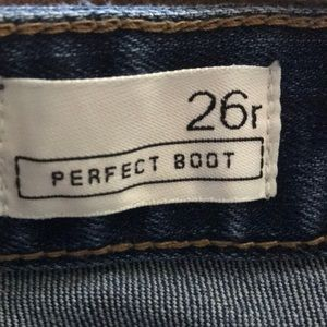 GAP Jeans - 26R Perfect Boot Jean By Gap
